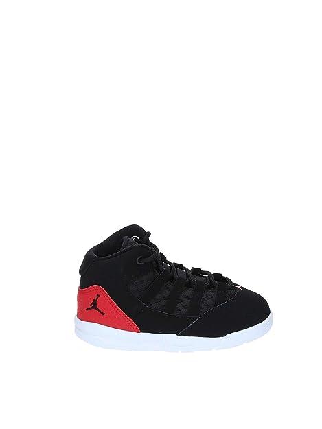 Nike Jordan MAX Aura (TD), Zapatillas de Estar por casa Bebé Unisex, Black/Gym Red 023, 21 EU: Amazon.es: Zapatos y complementos