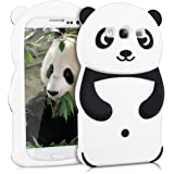 kwmobile ÉTUI EN SILICONE Design panda pour Samsung Galaxy S3 / S3 Neo Design stylé et protection optimale