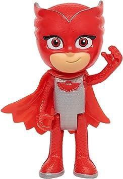 Pyjamasques Figura: PJ Máscaras – Pijama Héroes – pjm182 – Figura con articulaciones 7,5 cm – Oso (Versión Francesa)