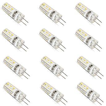 Ampoule Led G4 12v 10w.Lot De 12 Ampoule Ampoule Led G4 1 5 W Dc 12 V G4 24 Lampe Led Smd 3014 Piece De Rechange Pour 10 W Ampoule Halogene Blanc Chaud