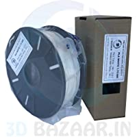 3D Bazaar 1 kg PLA 3D Filament 1.75 mm (White)