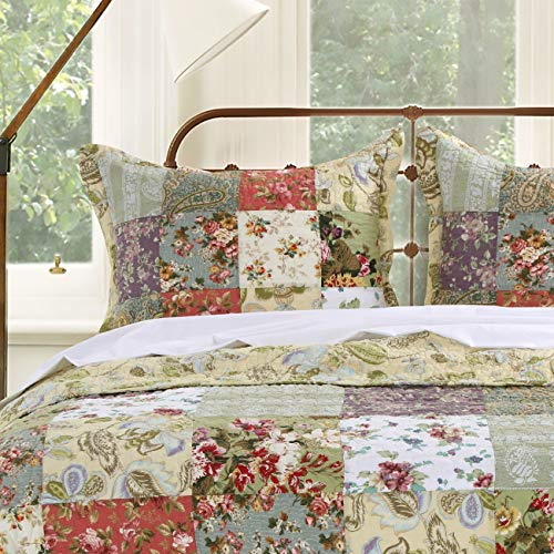 Greenland Blooming Prairie King Sham-Multi, Multicolor