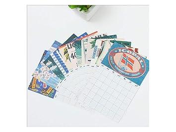 Lindo Buscando Agenda mensual Calendario de Notas Calendario ...