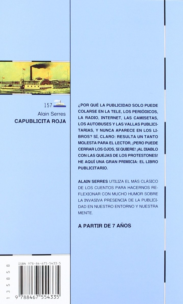 Capublicita Roja (El Barco de Vapor Azul): Amazon.es: Alain ...