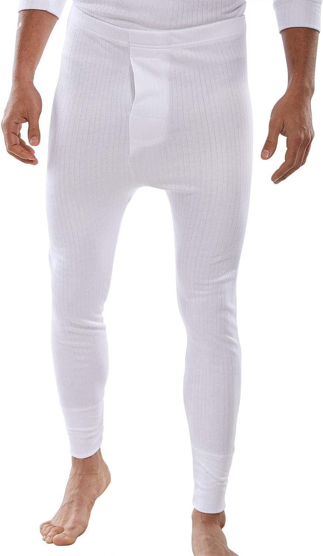 5 Star Mens Thermal Underwear Long John Pants Winter Skiing Work (Large,  White): Amazon.co.uk: Clothing