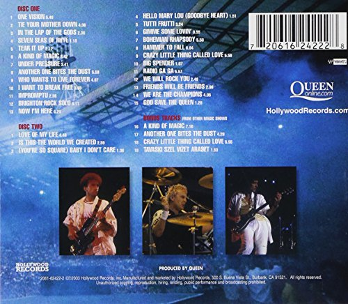 Image of Live at Wembley Stadium ( CD only)