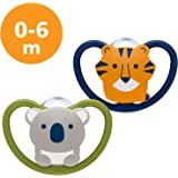 NUK Space Baby Dummy Koala & Tiger