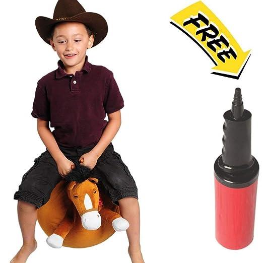 Waliki Toys Hopper Ball para niños de 3-5 a 9 años Bomba incluida ...