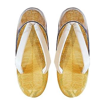 53b838f245d122 Amazon.co.jp: 女性用 草履 白鼻緒 雨用 時雨履きウレタン底 L寸 天部分 ...