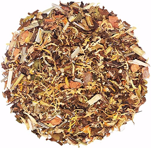 The Indian Chai - Cough & Cold Loose Leaf Herbal Tea, Immunity Booster Tea, With Calendula, Echinacea and Licorice, 3.53oz
