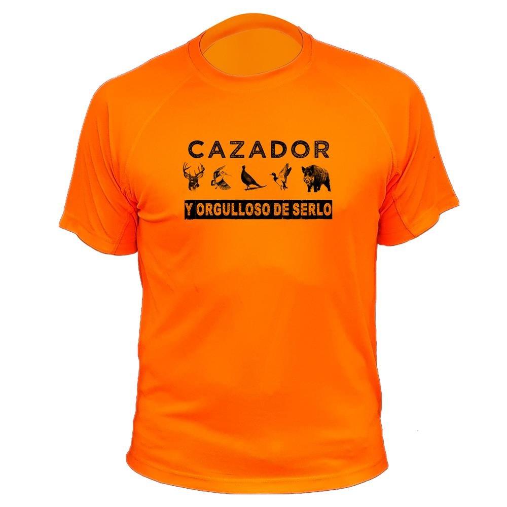 Camiseta de caza Cazador y orgulloso de serlo - Ideas regalos AtooDog