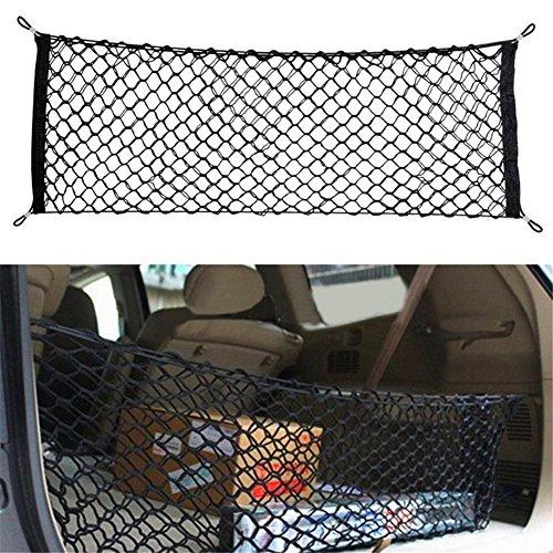 Mesh Net Car hatchback Rear Luggage Cargo Trunk Storage Organizer ()