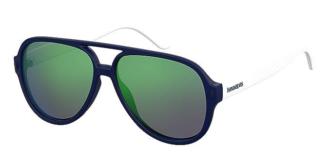 Havaianas Leblon Gafas de Sol, Multicolor (Bluewhite), 59 ...