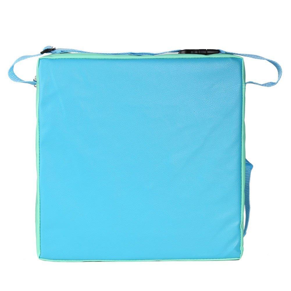 Lance Home Coussin dappoint chaise en Cuir artificiel pour enfant pour Chaise de Salle /à Manger Bleu