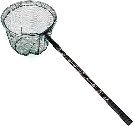 Fishing Compact  Portable Retractable Telescoping Folded Fly Fishing Landing Net