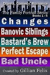 The Family Portrait Series Box Set: Books 1 - 5: Drama, Comedy, Romance