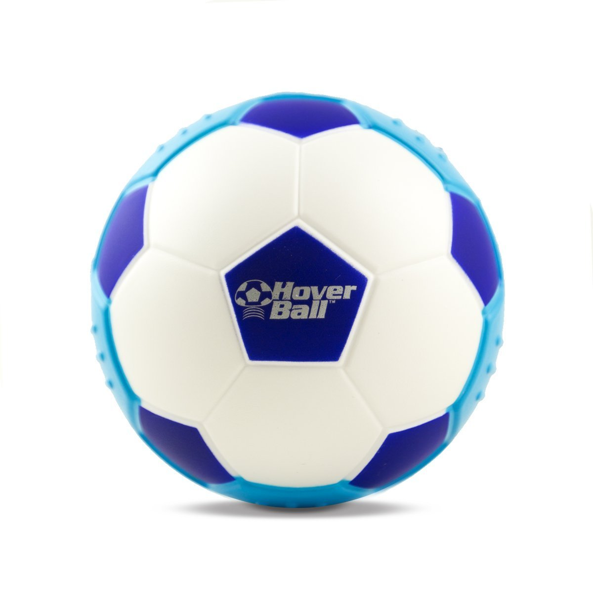 Fu/ßball f/ür den Innenbereich Schwebeball gleitet auf allen Oberfl/ächen aus weichem Schaumstoff Blau