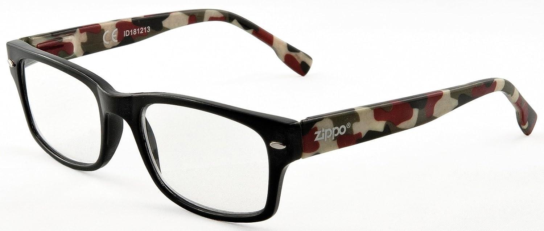 Zippo - Gafas de Lectura Zippo B4 - Diseño de camuflaje ...
