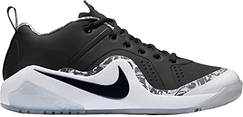 hot sale online 57bd9 03b1d Nike Men's Force Zoom Trout 4 Turf Baseball Trainers (Black/White, 8.0 D