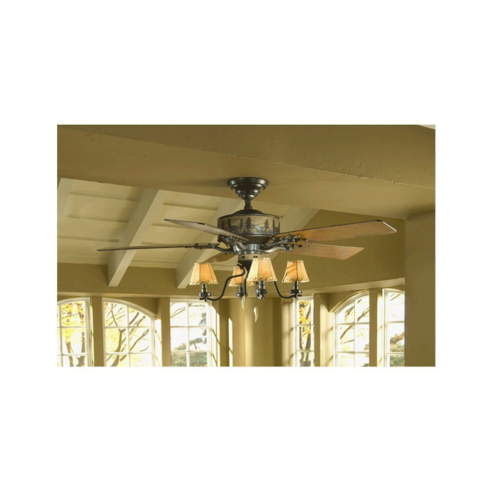 Set of 2 hunter adirondack 52 in brittany bronze downrod or flush set of 2 hunter adirondack 52 in brittany bronze downrod or flush mount ceiling fan with light kit ceiling fans accessories amazon canada aloadofball Gallery