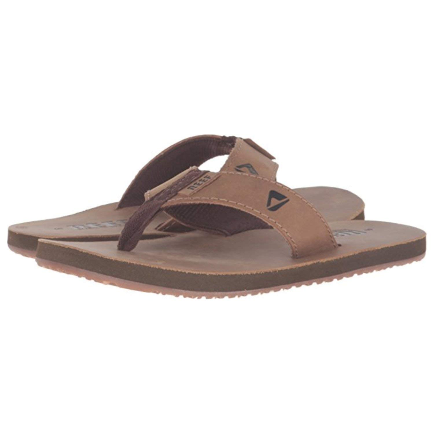 Reef Men's Leather Smoothy, Bronze/Brown, 11 M US
