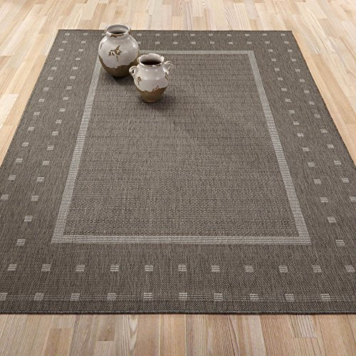 Ottomanson JRD8843 5X7 Collection Contemporary Bordered product image
