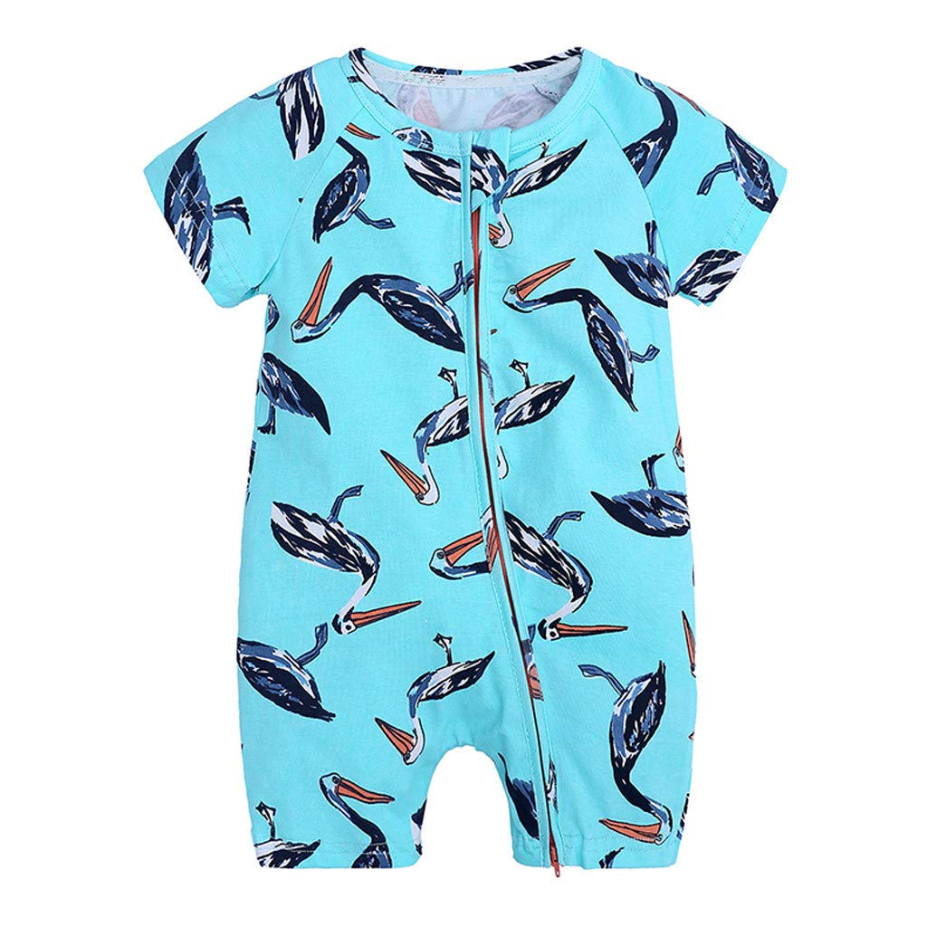 Infant Baby Boys Rompers Sleeveless Cotton Onesie,Shark Want Fish Outfit Spring Pajamas