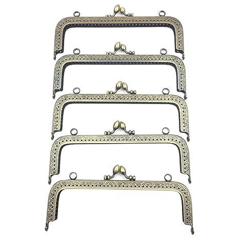 Guo FA Monedero con marco de metal, diseño de calabaza ...
