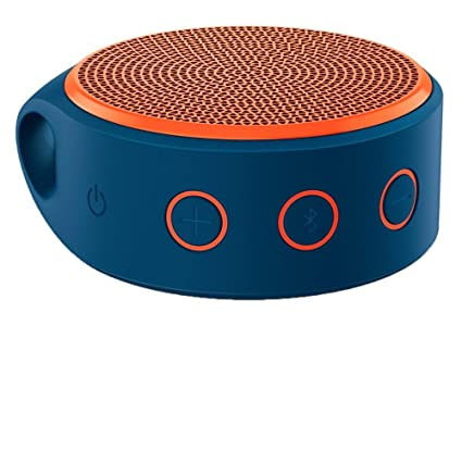 Amazon.in  Buy Logitech X100 Wireless Bluetooth Spekers (Blue Orange)  Online at Low Prices in India  6b4ab13fd433d