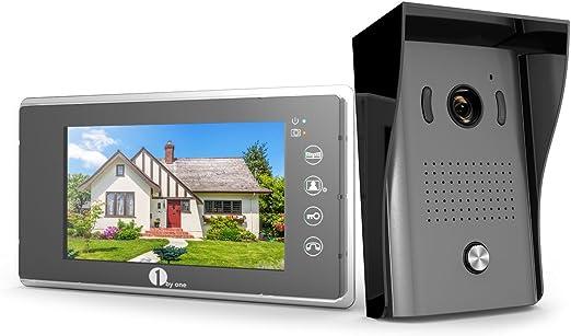Amazon.com: 1byone - Kit de timbre para puerta de vídeo o ...