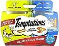 Temptations Cat Treats Mix Ups Chicken & Surfers Delight Flavors 16 Oz 2Pk from MARS