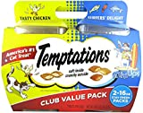 Temptations Cat Treats Mix Ups Chicken & Surfers Delight Flavors 16 Oz 2Pk