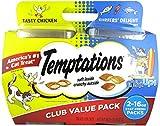 Temptations Cat Treats Mix Ups Chicken & Surfers Delight Flavors 16 Oz 2Pk For Sale
