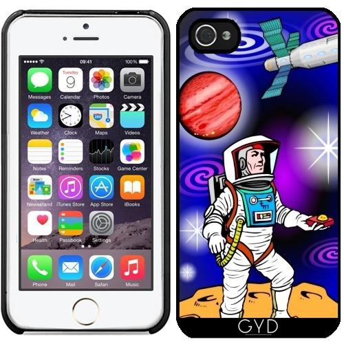 Coque pour Iphone 5/5S - Dessin Animé Astronaute by WonderfulDreamPicture