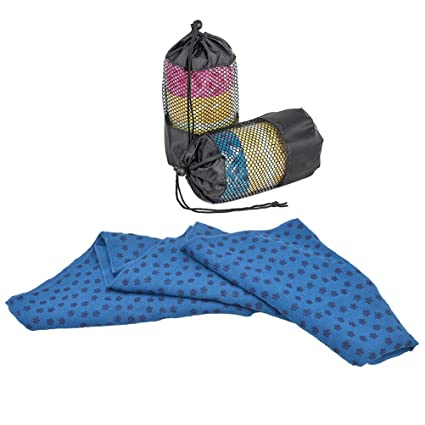 Amazon.com: VORCOOL Soft Non Slip Yoga Mat Cover Towel Sport ...