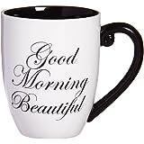 Good Morning Beautiful Elegant Coffee Mug