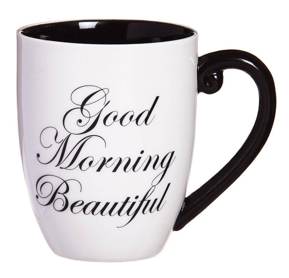 Cypress-Home-Black-Ink-Good-Morning-Beautiful-18-oz-Ceramic-Cup-O-Joe-Coffee-Mug-or-Tea-Cup-4W-x-575D-x-5H