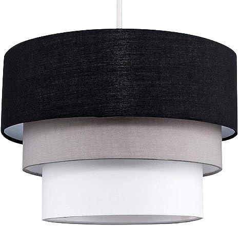 Paralume per lampada a sospensione a 3 livelli SQWK moderno
