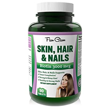 Amazon.com: #1 Recommended best Hair Skin and Nails Vitamins with ...