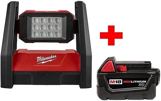 Milwaukee M18 18-Volt Lithium-Ion Cordless 1500 Lumens ROVER LED Flood Light