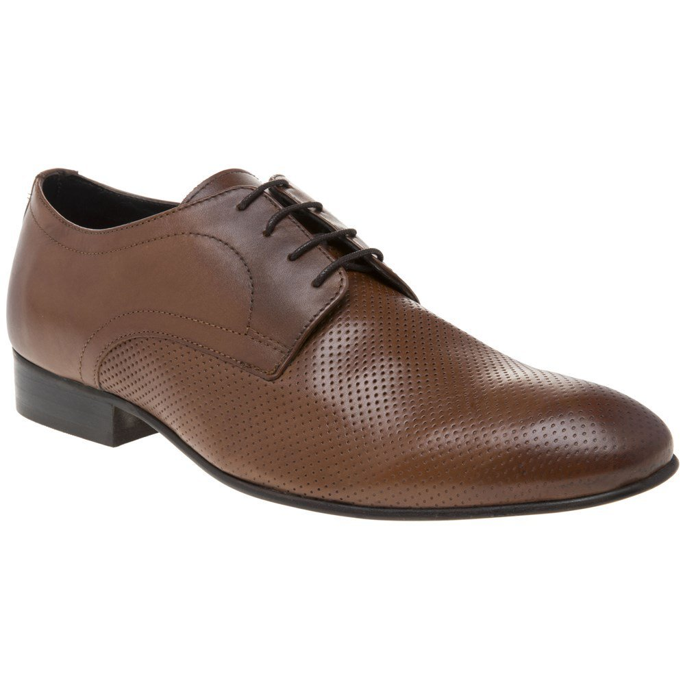 Base London Statement Perf Mens Shoes Tan