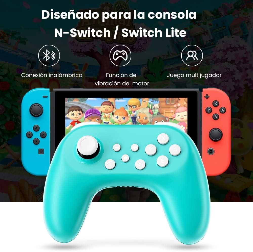 Zacro 2 PCS Mando para Nintendo Switch, con Vibración, Giroscopio, Bluetooth Controlador Inalámbrico, Batería Recargable y Remote Joystick para Nintendo Switch / Switch Lite, para juegos multijugador: Amazon.es: Videojuegos