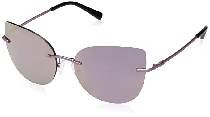 755321a173bd Image Unavailable. Image not available for. Color: Armani Exchange Women's  Metal Woman Sunglass Non-Polarized Iridium Oval ...
