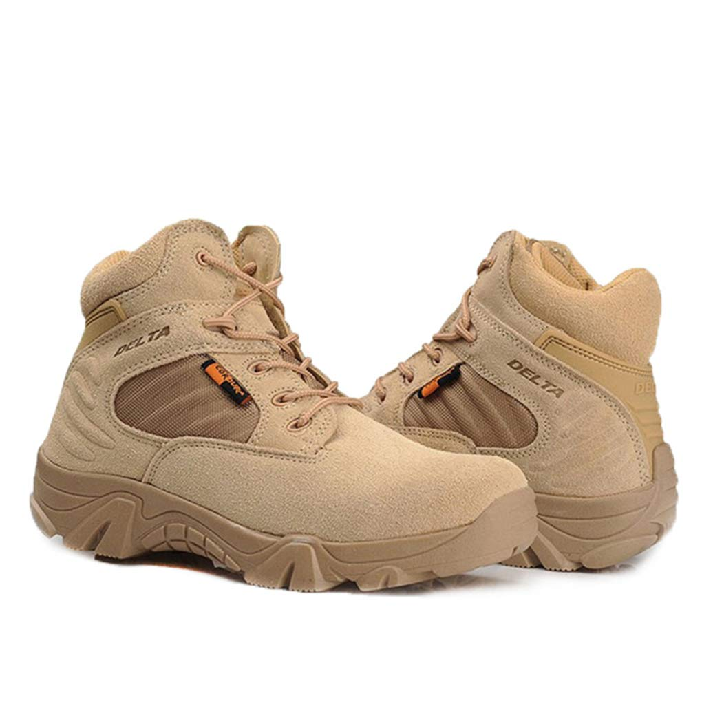 Bergort Military Tactical Boots Men Desert Combat Boots Outdoor Army Ankle Shoes