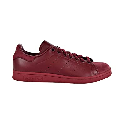 watch f719e 341a9 adidas Stan Smith Mens Shoes Burgundy b37920 (7 D(M) ...
