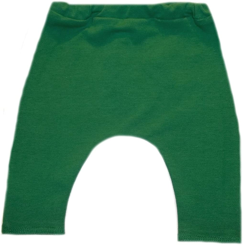 6 Sizes Made in The USA! Jacquis Baby Girls Kelly Green Capri Leggings