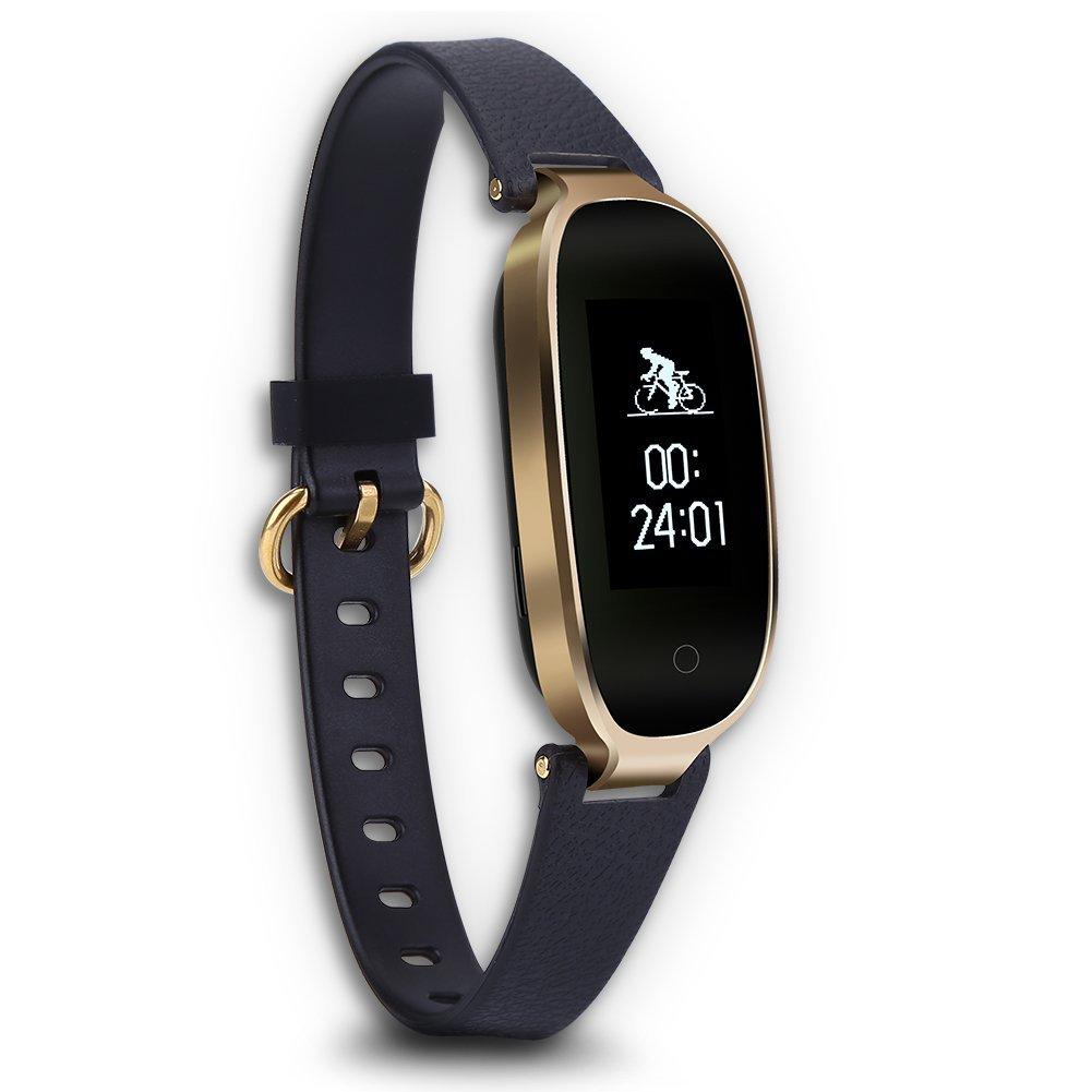 Bluetooth Watch, Fashion Intelligent Multi-Function Fitness Sports Phone Watches Bracelet Heart Rate Sleep Monitor