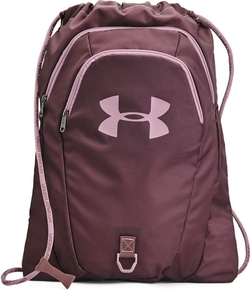 Under Armour Adult Undeniable 2.0 Sackpack , Ash Plum (554)/Mauve Pink , One Size Fits All