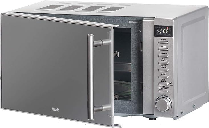 BBK 20MWS-721T/BS-M Microondas con puerta espejo, 20 Litros, 700 ...