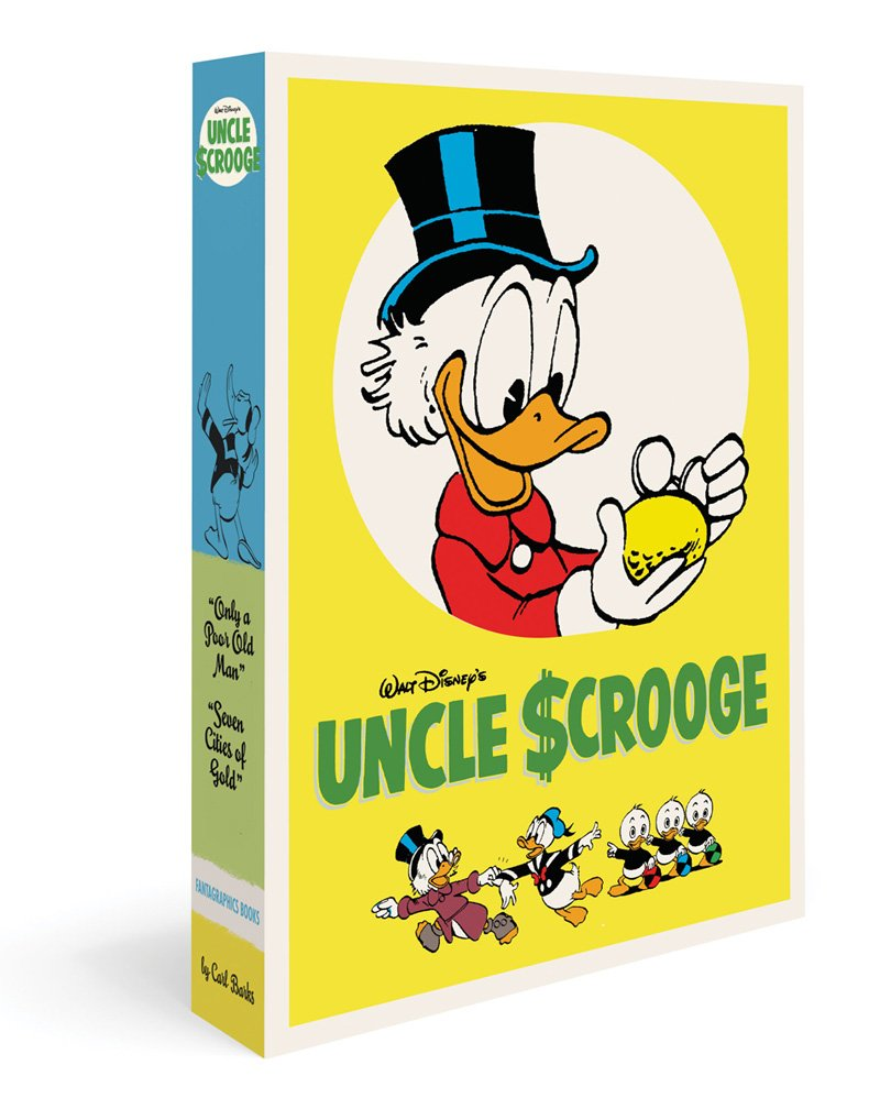 Walt Disney's Uncle Scrooge Gift Box Set:Only A Poor Old Man And The Seven Cities Of Gold (The Carl Barks Library)